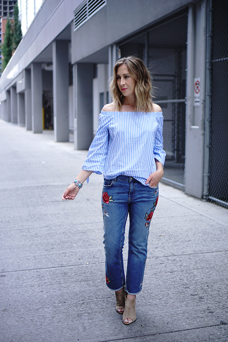 cropped-embroidered-denim-jeans-stripe-top-booties