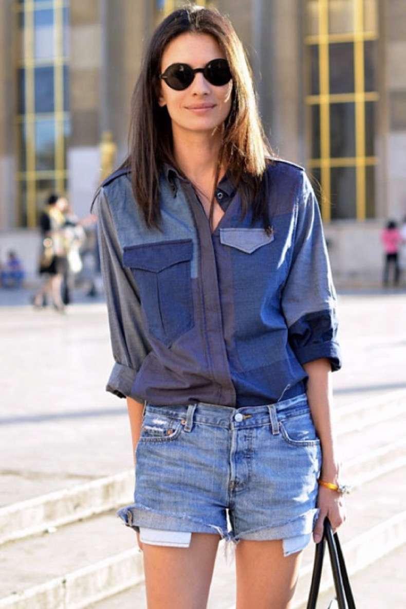 denim-fashion-trend-street-style-Isabel-Marant-patchwork-denim-shirt-015