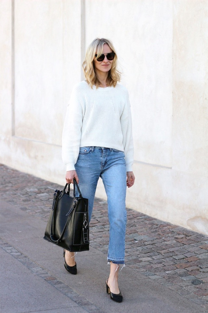frayed-denim-cropped-jeans-block-heels-white-sweater-weekend-outfit-blame-it-on-fashion-640x960
