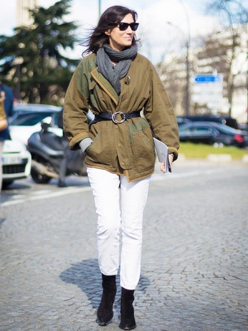 french-style-white-jeans-army-coat-via-www