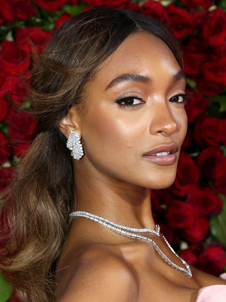 NEW YORK, NY - JUNE 12: Jourdan Dunn attends 70th Annual Tony Awards - Arrivals at Beacon Theatre on June 12, 2016 in New York City. (Photo by Bruce Glikas/FilmMagic)