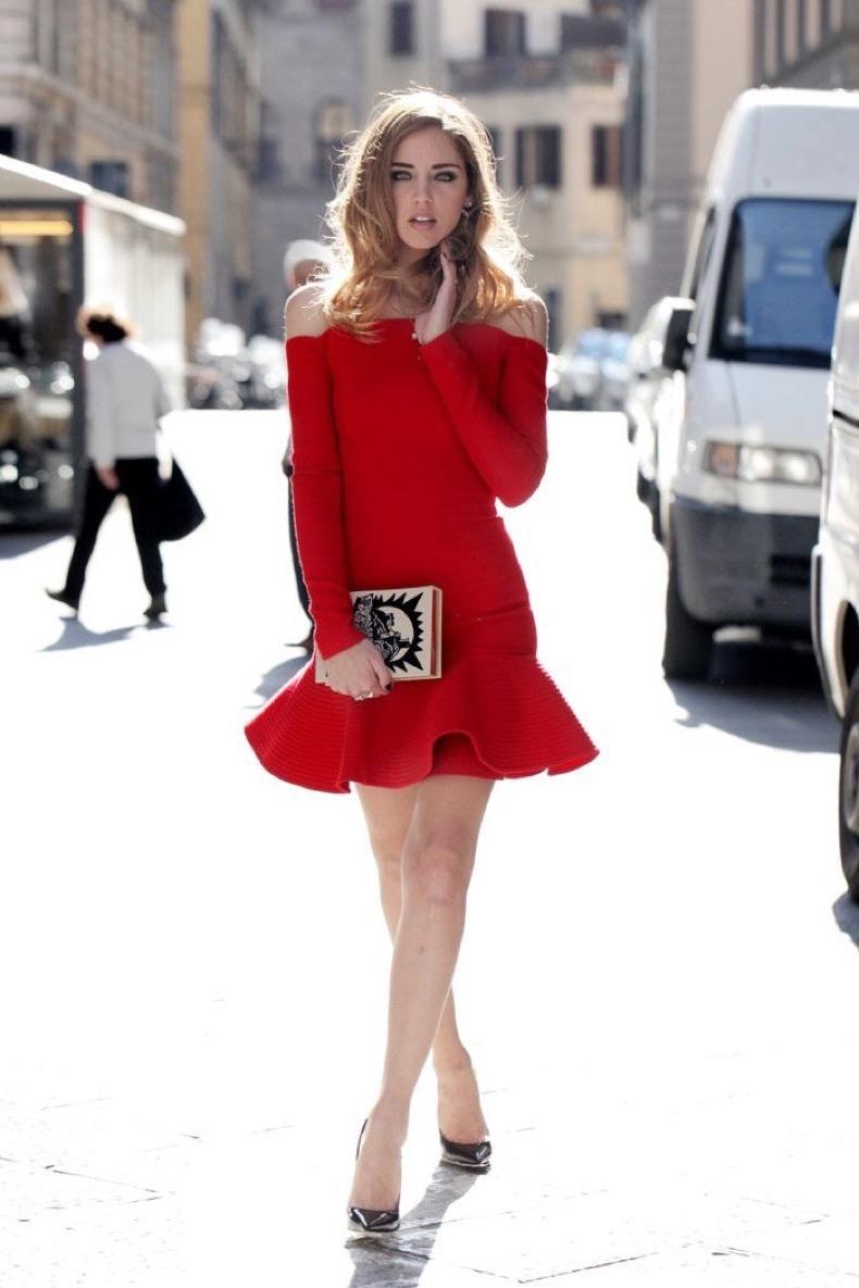 off-shoulder-red-dress