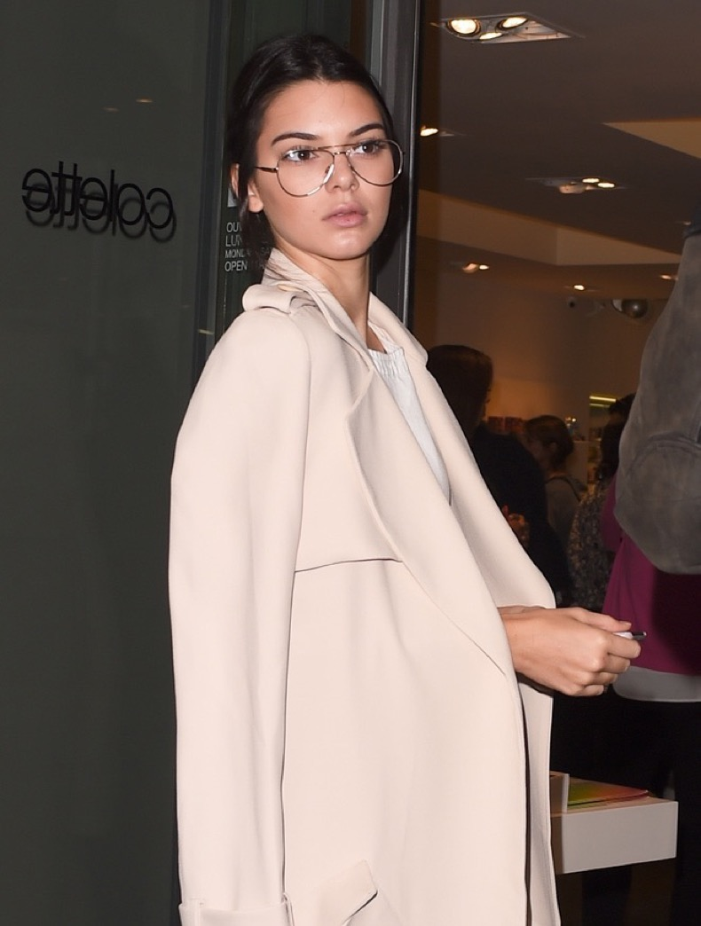 Mandatory Credit: Photo by Beretta/Sims/REX Shutterstock (2865139t) Kendall Jenner Colette Store event, Spring Summer 2016, Paris Fashion Week, France - 02 Oct 2015