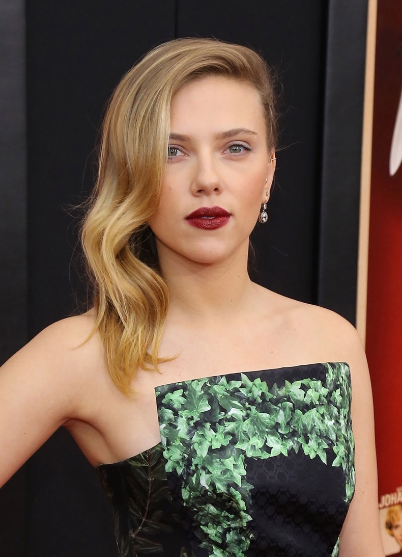 SCARLETT JOHANSSON at Hitchcock Premiere in New York