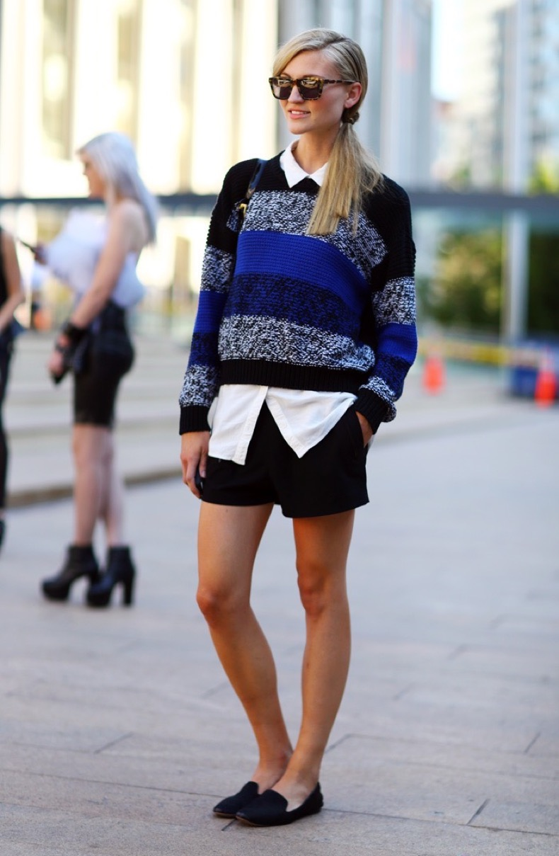 sweater-shorts