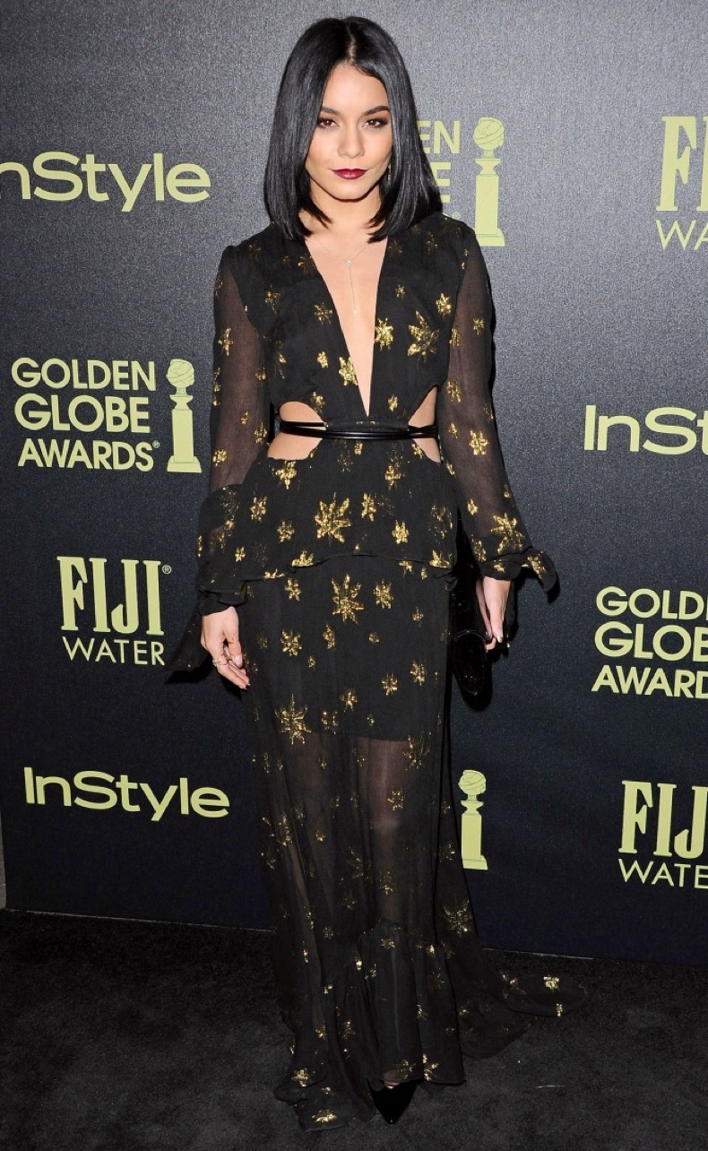 -West Hollywood, CA - 11/17/2015 Hollywood Foreign Press Association And InStyle Celebrate The 2016 Golden Globe Award Season -PICTURED: Vanessa Hudgens  -PHOTO by: Sara De Boer/startraksphoto.com -SDL_0990 Startraks Photo New York, NY  For licensing please call 212-414-9464 or email sales@startraksphoto.com