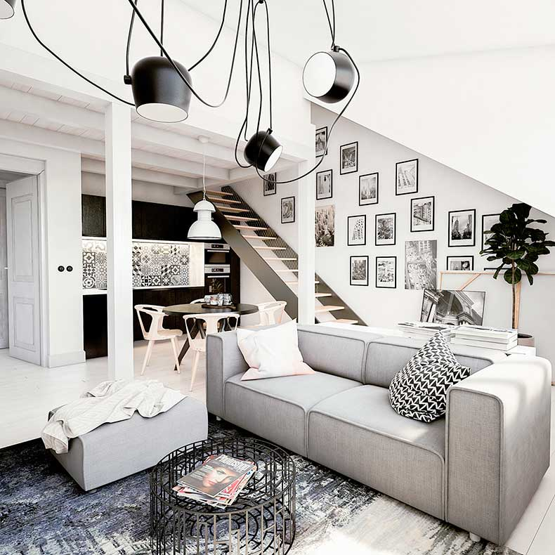 white-industrial-apartment