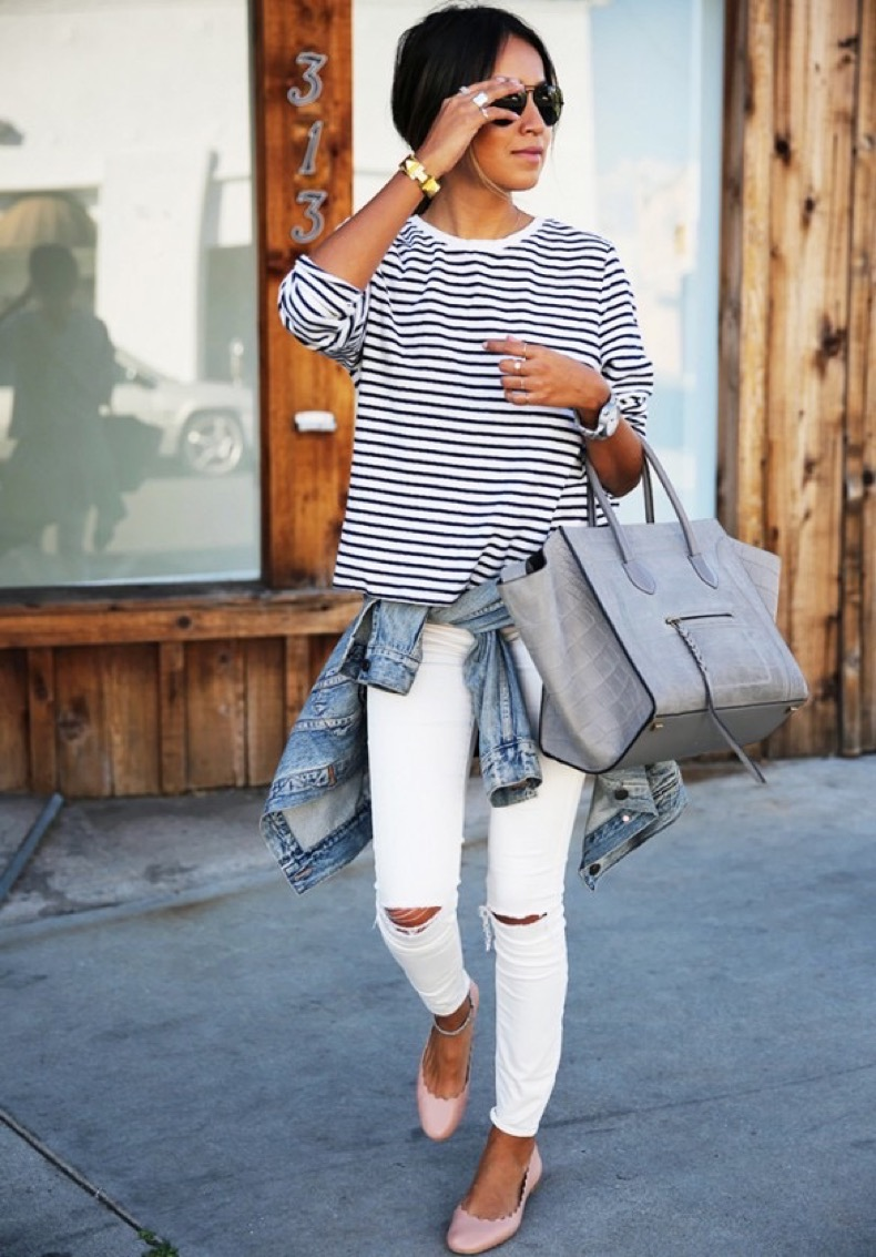 white-jeans-stripes-denim-jacket-classic-via-sincerely-jules