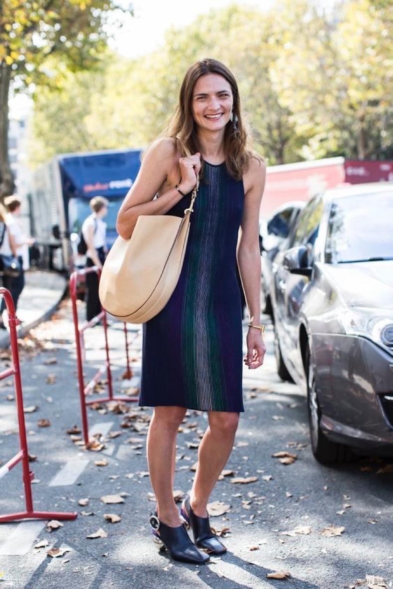 Paris Fashionweek ss2015 day 5, outside Chloé