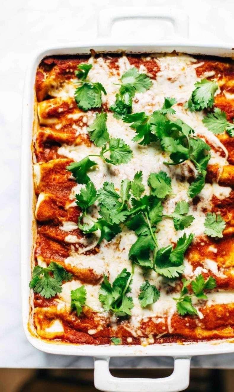 chicken-quinoa-enchiladas