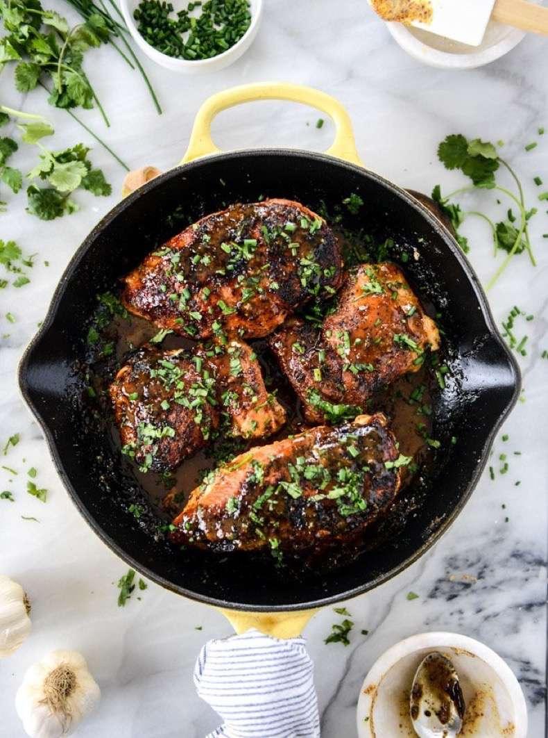 honey-dijon-skillet-chicken