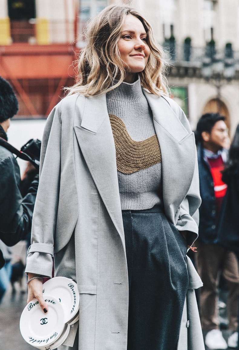 pfw-paris_fashion_week_fall_2016-street_style-collage_vintage-stella_mccartney-grey-chanel_clutch-ekaterina_mukhina-1-2-1
