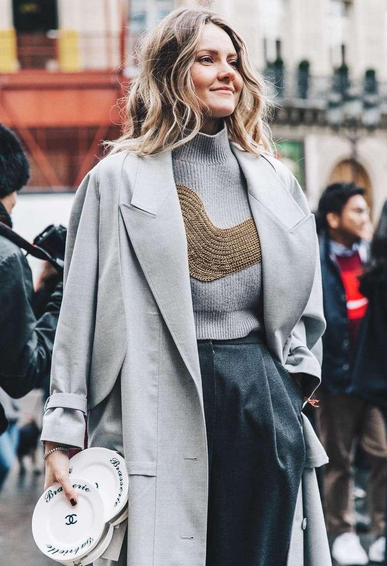 pfw-paris_fashion_week_fall_2016-street_style-collage_vintage-stella_mccartney-grey-chanel_clutch-ekaterina_mukhina-1-2-1