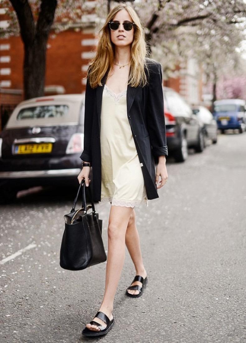 casual-blazer-jacket-and-ecru-slip-dress