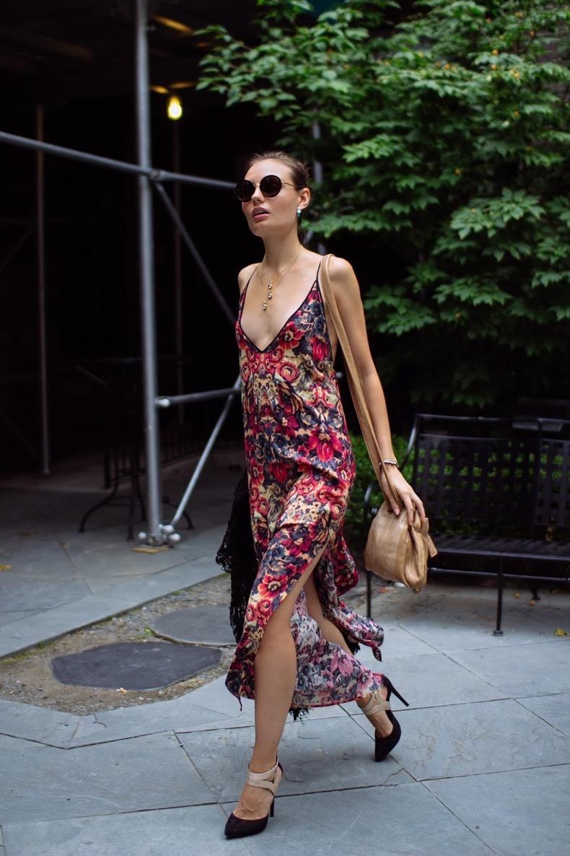 floral-print-slip-dress-street-style