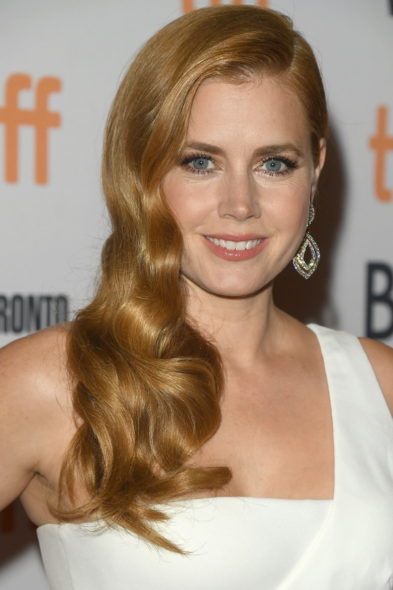 "TORONTO, ON - SEPTEMBER 11:  Actress Amy Adams attends the ""Nocturnal Animals"" premiere during the 2016 Toronto International Film Festival at Princess of Wales Theatre on September 11, 2016 in Toronto, Canada.  (Photo by George Pimentel/WireImage)"