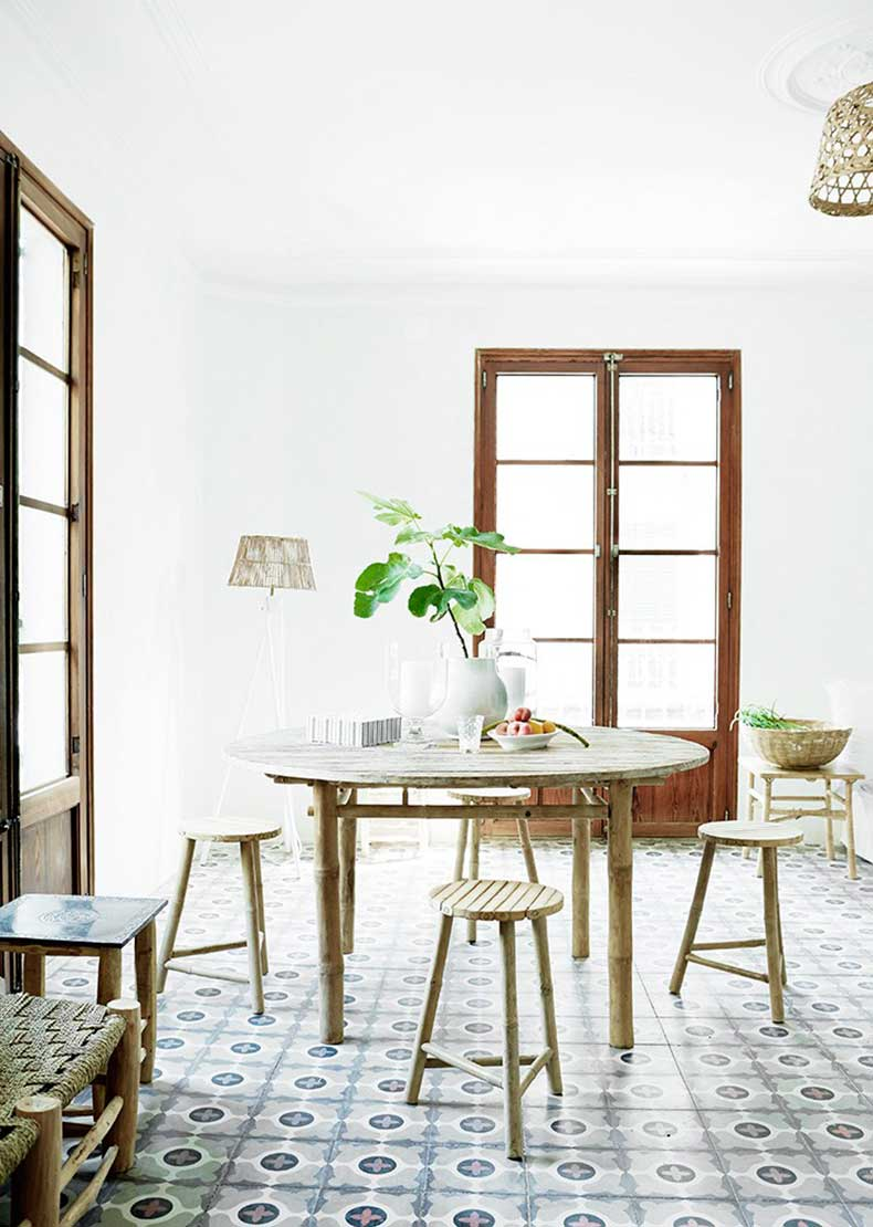 mallorca-apartment-wall-to-wall-cement-tile-dining-room-cococozy