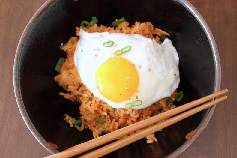 kimchi-fried-rice-fried-eggs