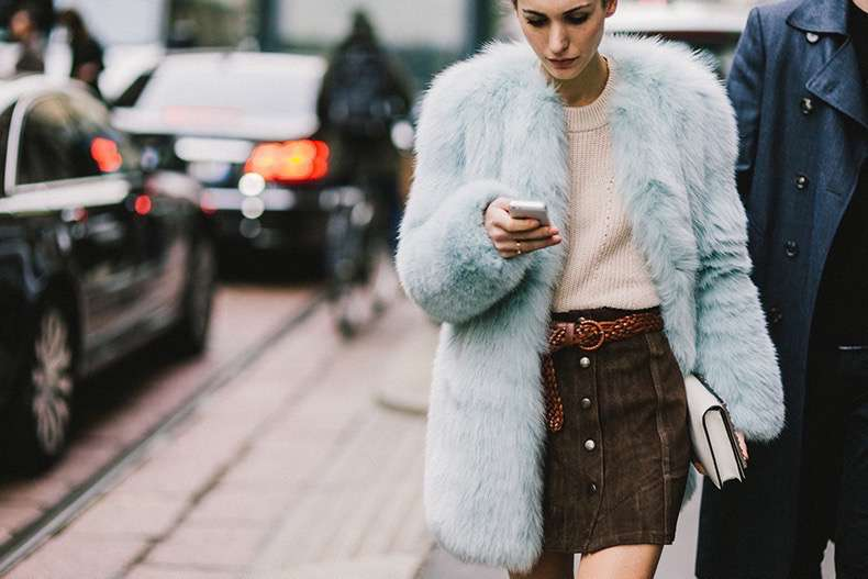 skirt-dress-fur-jacket-winter-street-style
