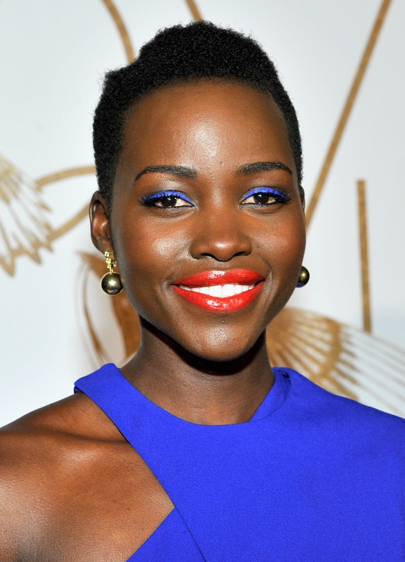 attends LoveGold Cocktail Party honoring Academy Award Nominee Lupita Nyong'o at Chateau Marmont on February 26, 2014 in Los Angeles, California.