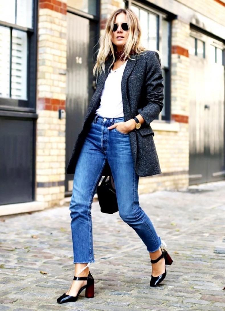 cropped-jeans-frayed-hem-jeans-high-waisted-jean-smary-janes-plastform-heels-grey-blazer-jacket-white-tee-scarf-via-fashion-me-now