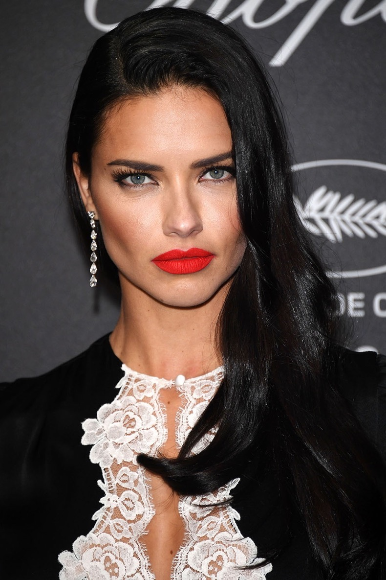 CANNES, FRANCE - MAY 16:  Adriana Lima attends Chopard Wild Party as part of The 69th Annual Cannes Film Festival at Port Canto on May 16, 2016 in Cannes, .  (Photo by Venturelli/Getty Images)