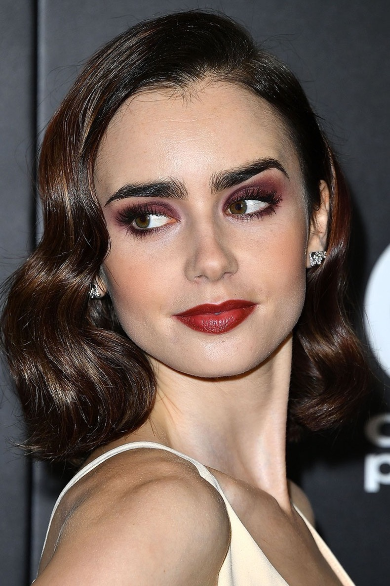 LOS ANGELES, CA - NOVEMBER 06:  Lily Collins arrives at the 20th Annual Hollywood Film Awards on November 6, 2016 in Los Angeles, California.  (Photo by Steve Granitz/WireImage)