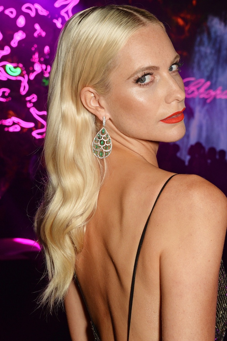 CANNES, FRANCE - MAY 16:  Poppy Delevingne attends the Chopard Wild Party during the 69th Annual Cannes Film Festival at Port Canto on May 16, 2016 in Cannes.  (Photo by David M. Benett/Dave Benett/Getty Images)