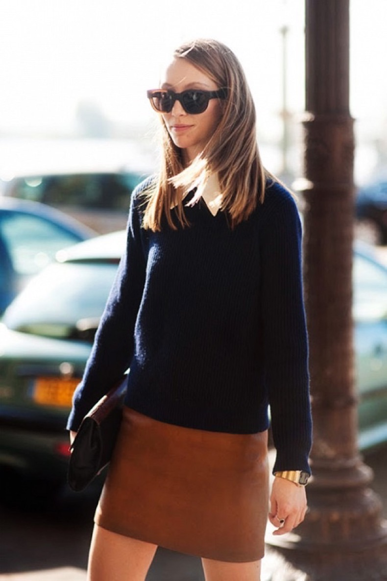 leather-mini-skirt-sweaters-and-skirts-classic-preppy-navy-via-vanessa-jackman