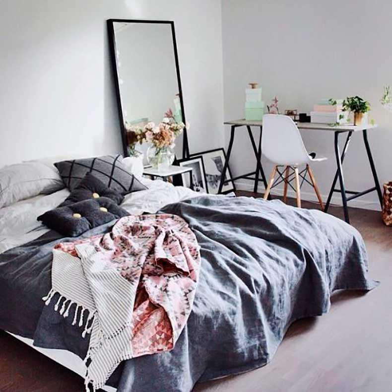 statement-mirror-scandinavian-bedroom