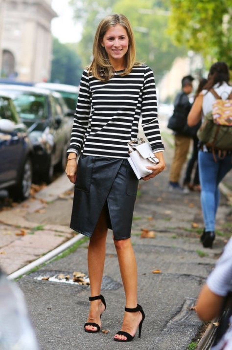 striped-tee-stripes-black-leather-skirt-wrap-sirt-sandals-white-purse-fall-early-fall-sarah-editor-style-via-theepitomeofquiet-tumblr-com_