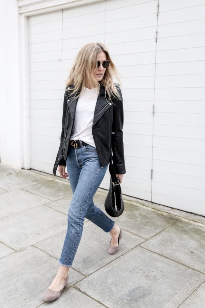 weekend-outfit-cropped-jeans-frayed-denim-glove-shoes-moto-jacket-white-tee-black-leather-moto-jacket-jeans-and-a-tee-fashion-me-now-640x960