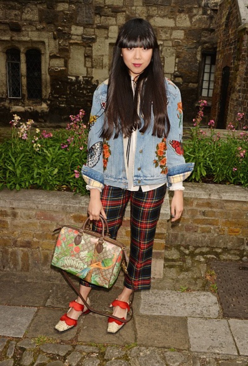LONDON, ENGLAND - JUNE 02:  Susie Bubble attends the Gucci Cruise 2017 fashion show at the Cloisters of Westminster Abbey on June 2, 2016 in London, England.  (Photo by David M. Benett/Dave Benett/Getty Images for GUCCI)