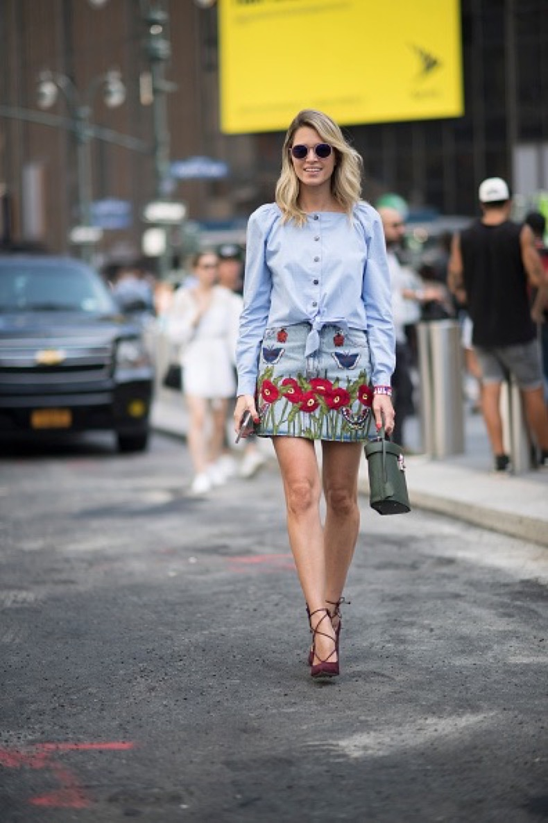 NEW YORK, NY - SEPTEMBER 08: Helena Bordon seen on the streets of Manhattan during New York Fashion Week on September 8, 2016 in New York City.  (Photo by Timur Emek/Getty Images)