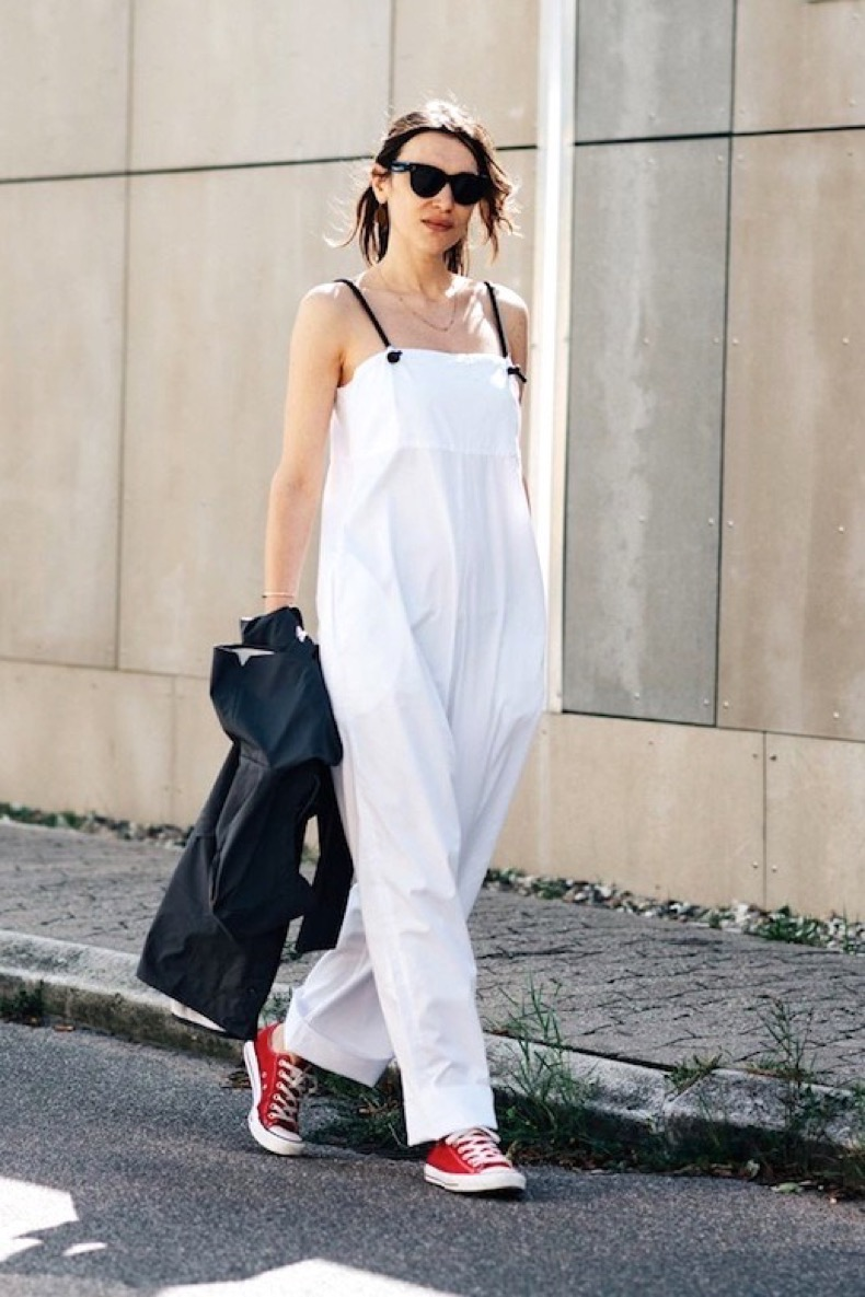 le-fashion-blog-street-style-cfw-sunglasses-white-sleeveless-jumpsuit-black-blazer-red-converse-sneakers-via-british-vogue