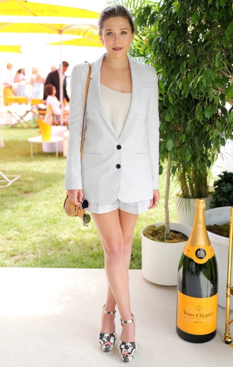 JERSEY CITY, NJ - JUNE 04:  Actress Elizabeth Olsen attends the Ninth Annual Veuve Clicquot Polo Classic at Liberty State Park on June 4, 2016 in Jersey City, New Jersey.  (Photo by Neilson Barnard/Getty Images for Veuve Clicquot)