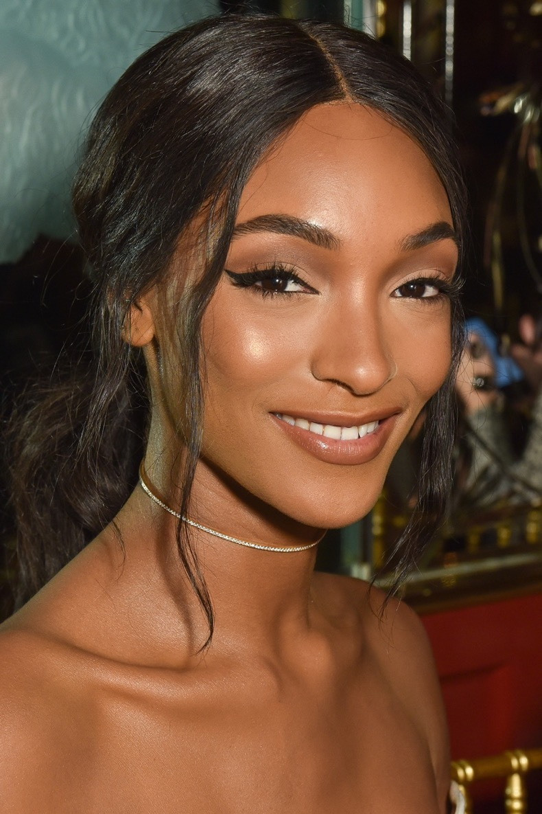 NEW YORK, NY - SEPTEMBER 13:  Jourdan Dunn attends Brandon Maxwell - Front Row - September 2016 - New York Fashion Week at Russian Tea Room on September 13, 2016 in New York City.  (Photo by Jared Siskin/Patrick McMullan via Getty Images)