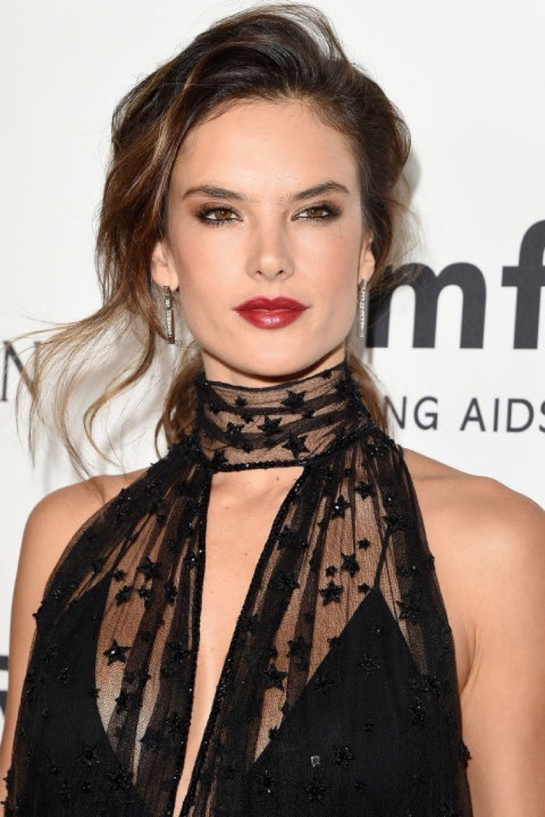 hbz-the-list-holiday-hair-makeup-alessandra-ambrosio-gettyimages-494871594