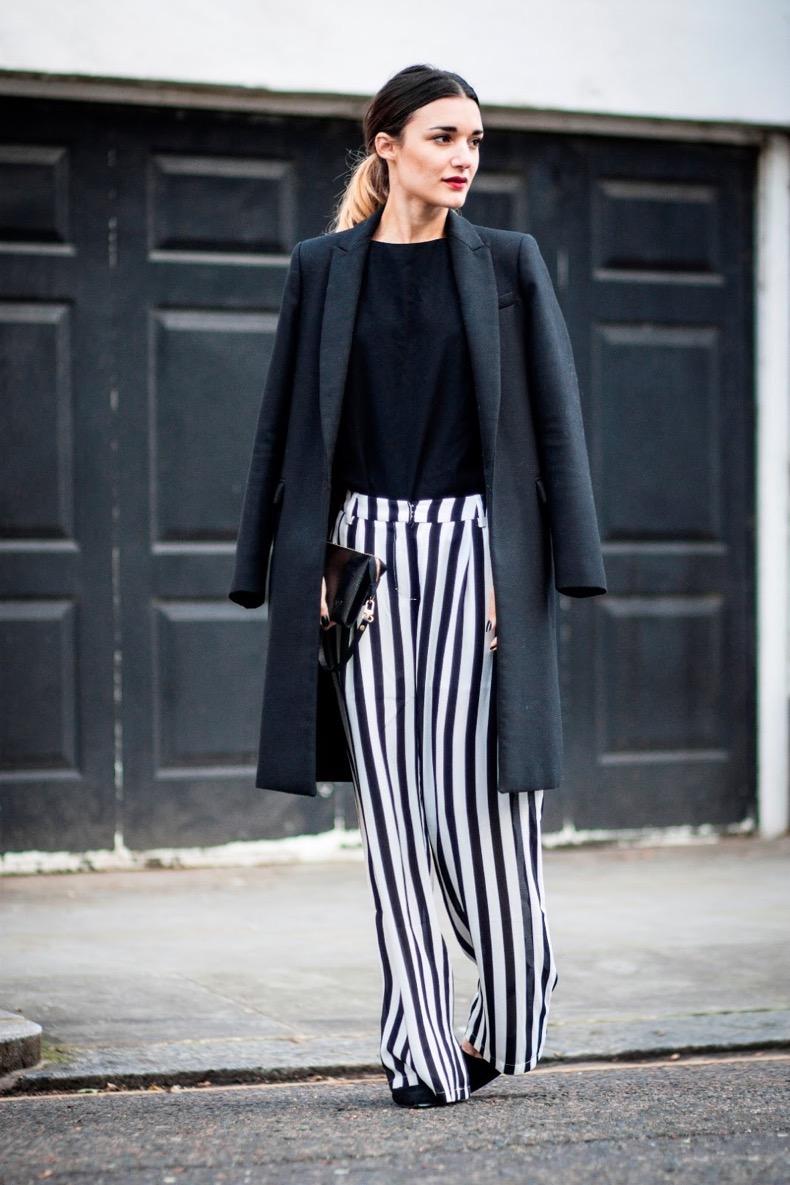 Pantalones Rayados Cut Paste Blog De Moda