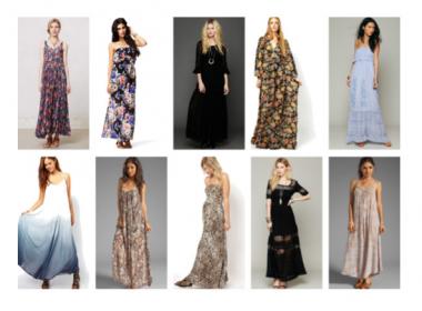 10 maxi vestidos para embarazadas / 10 maxi dresses for pregnant ladies