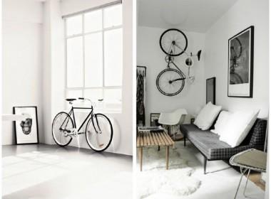 decorando con bicicletas