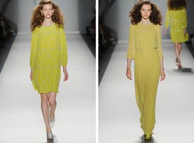 jenny packham spring summer 2014 / jenny packham primavera verano 2014 / new york fashion week