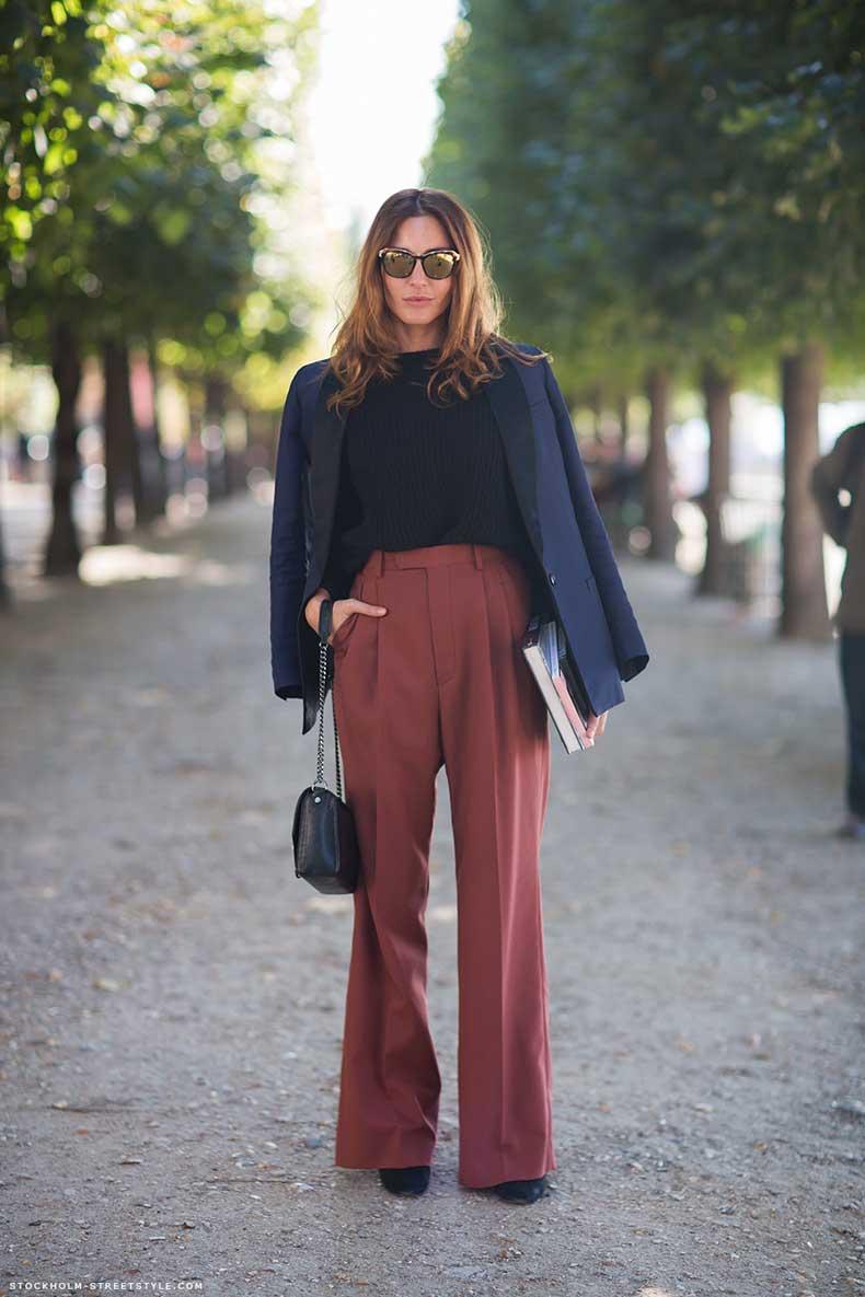 Inspiracion Para Usar Pantalones Anchos Esta Temporada Cut Paste Blog De Moda