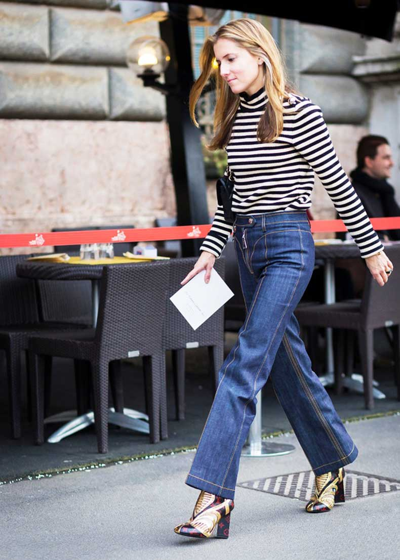 Los Mejores Zapatos Para Usar Tus Jeans Acampanados   Cut ...