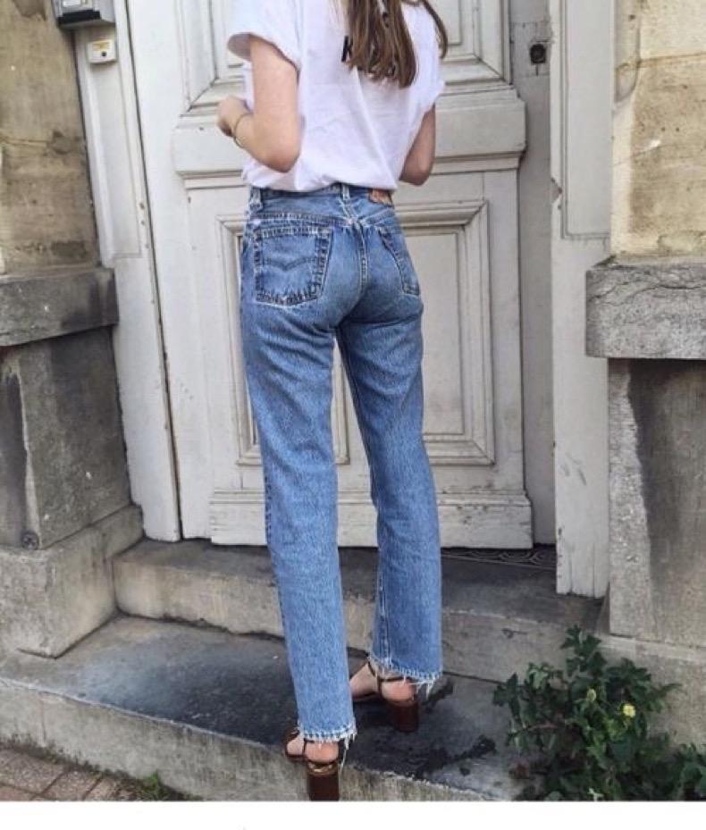 Jeans De Tiro Alto Anchos Cut Paste Blog De Moda