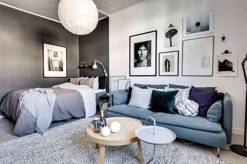 Delimitar los espacios en apartamentos pequeños