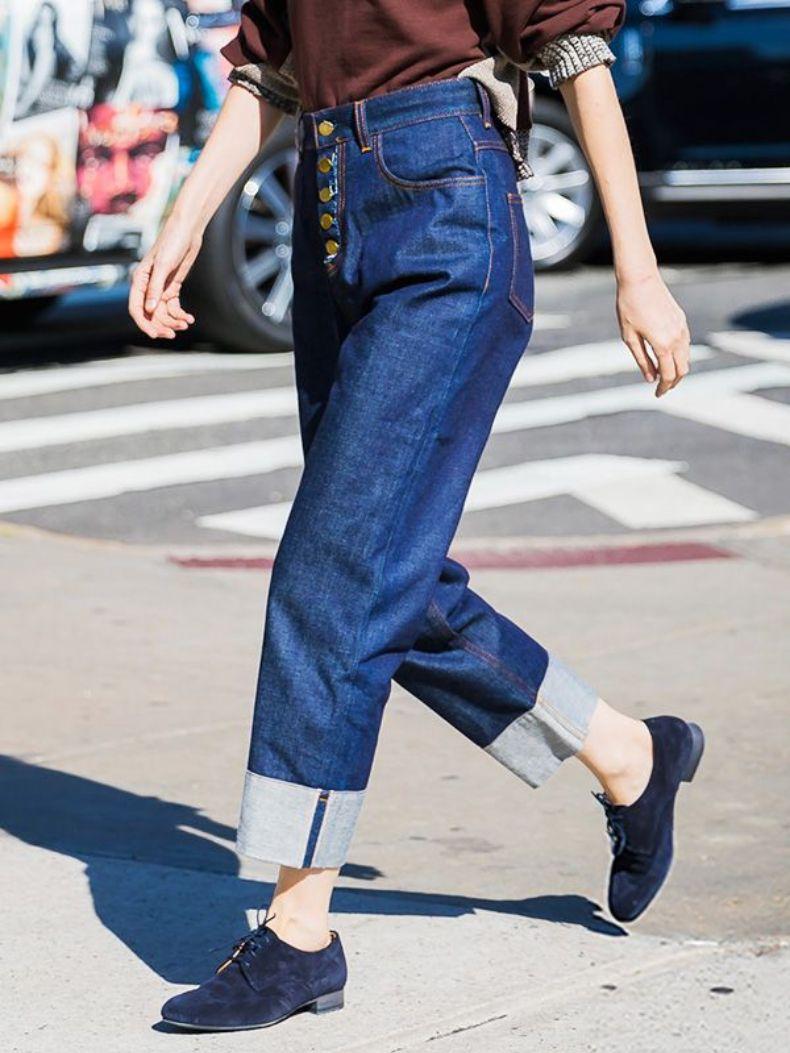 jeans doblados | Cut & Paste - Blog de Moda