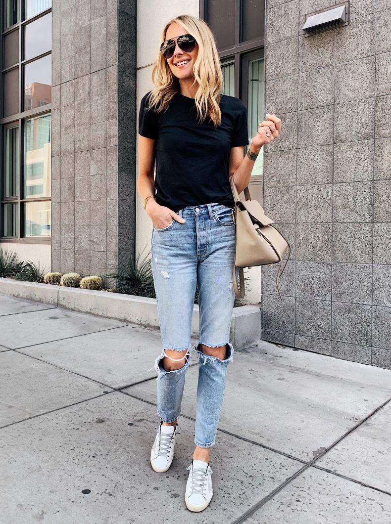 camiseta negra | Cut & Paste – Blog de Moda