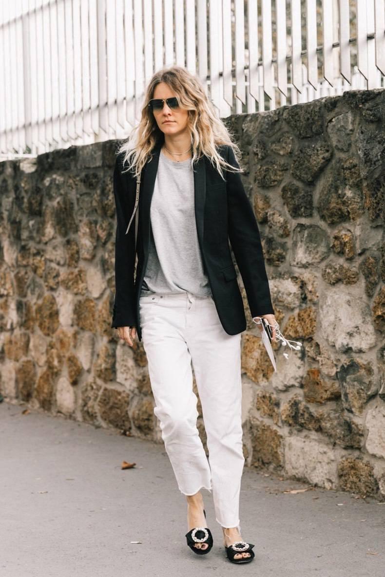 Jeans Rectos Cut Paste Blog De Moda